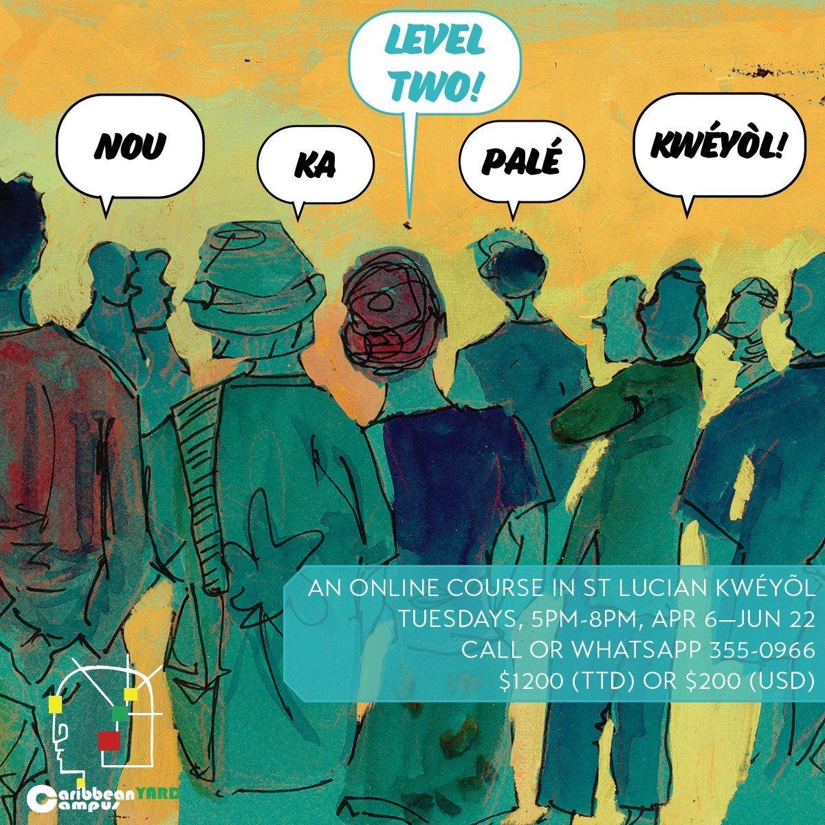 Nou Ka Palé Kwéyòl: Level 2 Kwéyòl