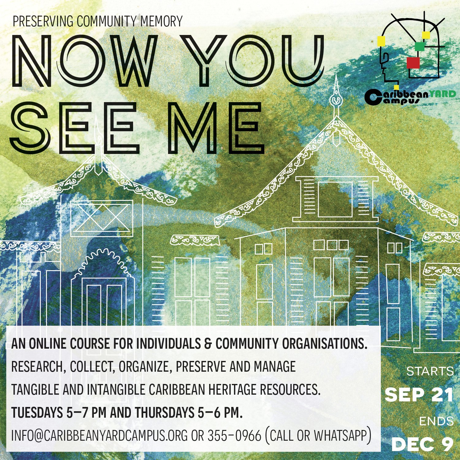 Now You See Me: Preserving Community Memory